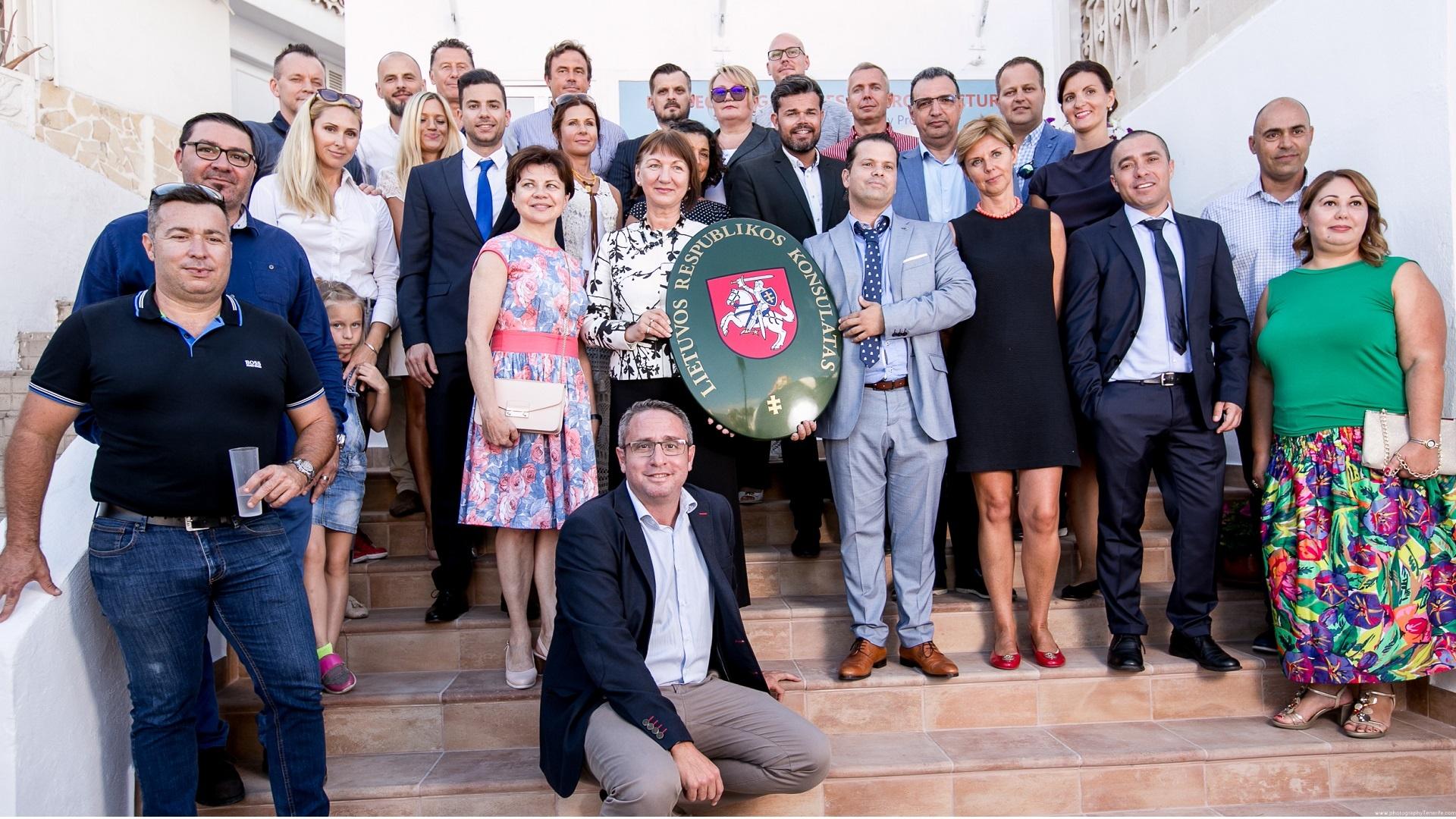 Tenerifėje atidarytas Lietuvos garbės konsulatas (5)