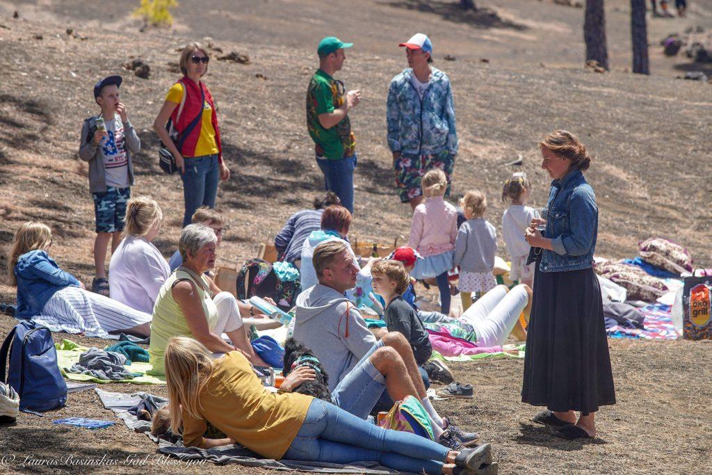 Šv. Velykos kalnuose Lietuviu bendruomene Tenerifėje 2019  Casa Litunana Tenerife