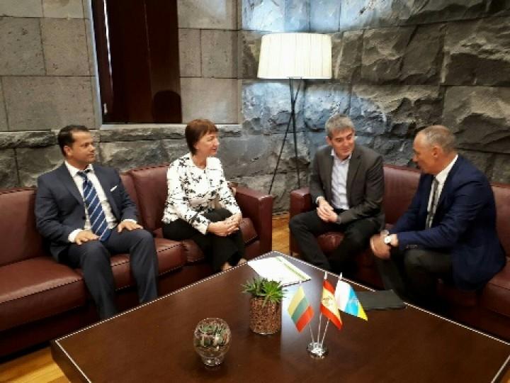 Tenerifėje atidarytas Lietuvos garbės konsulatas