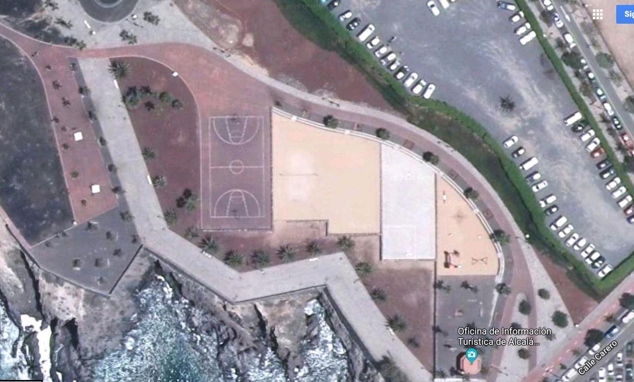 Tenerife, Alcala, vaikų žaidimo aikštelė Lietuvių bandruomenė Tenerifėje Casa Lituana