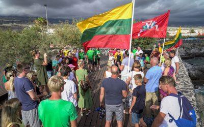 Tautiška giesmė 2019 Liepos 6 Lietuvių bendruomenė Tenerifėje Casa Lituana Foto Saulius Liesis (4)