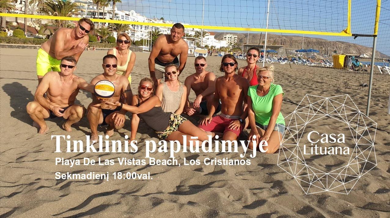 Tinklinis Las Vistas paplūdimyje