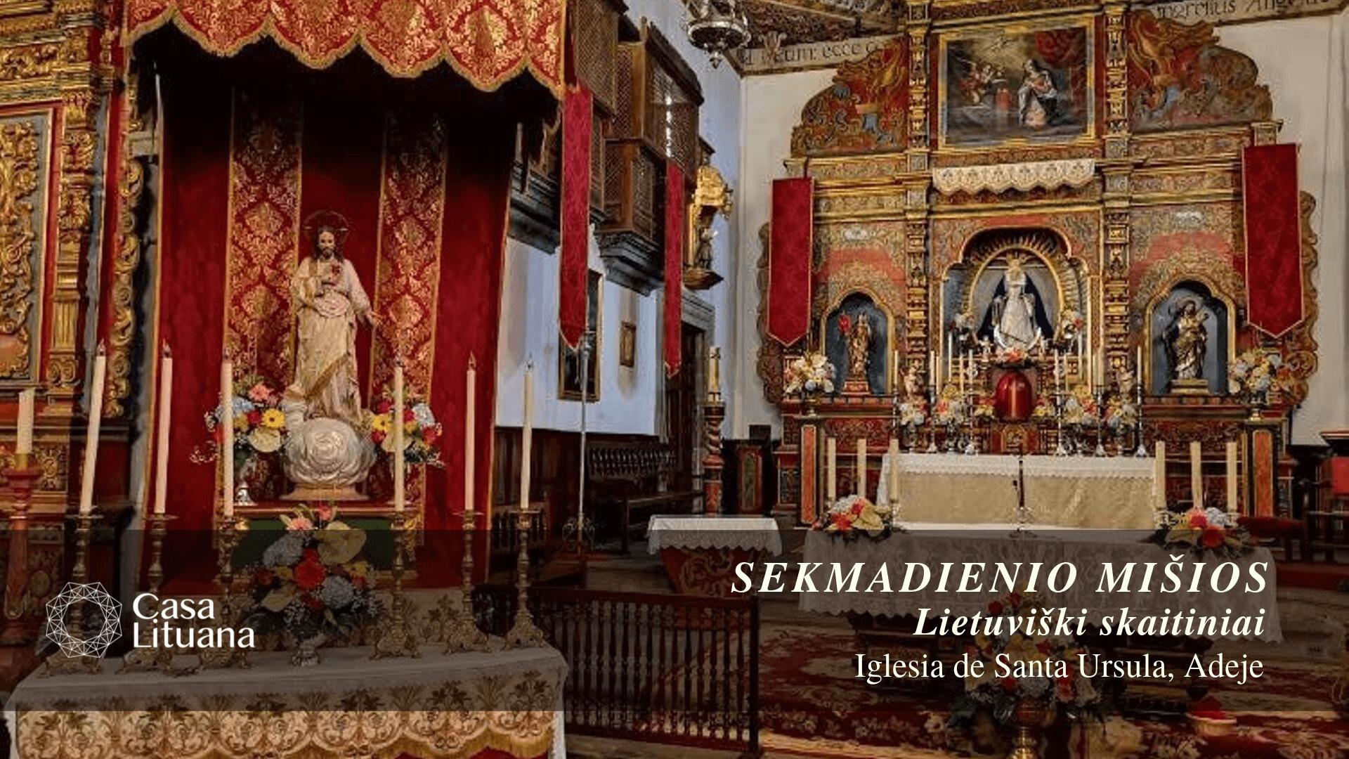 Šv. Mišios | Lietuviški skaitiniai