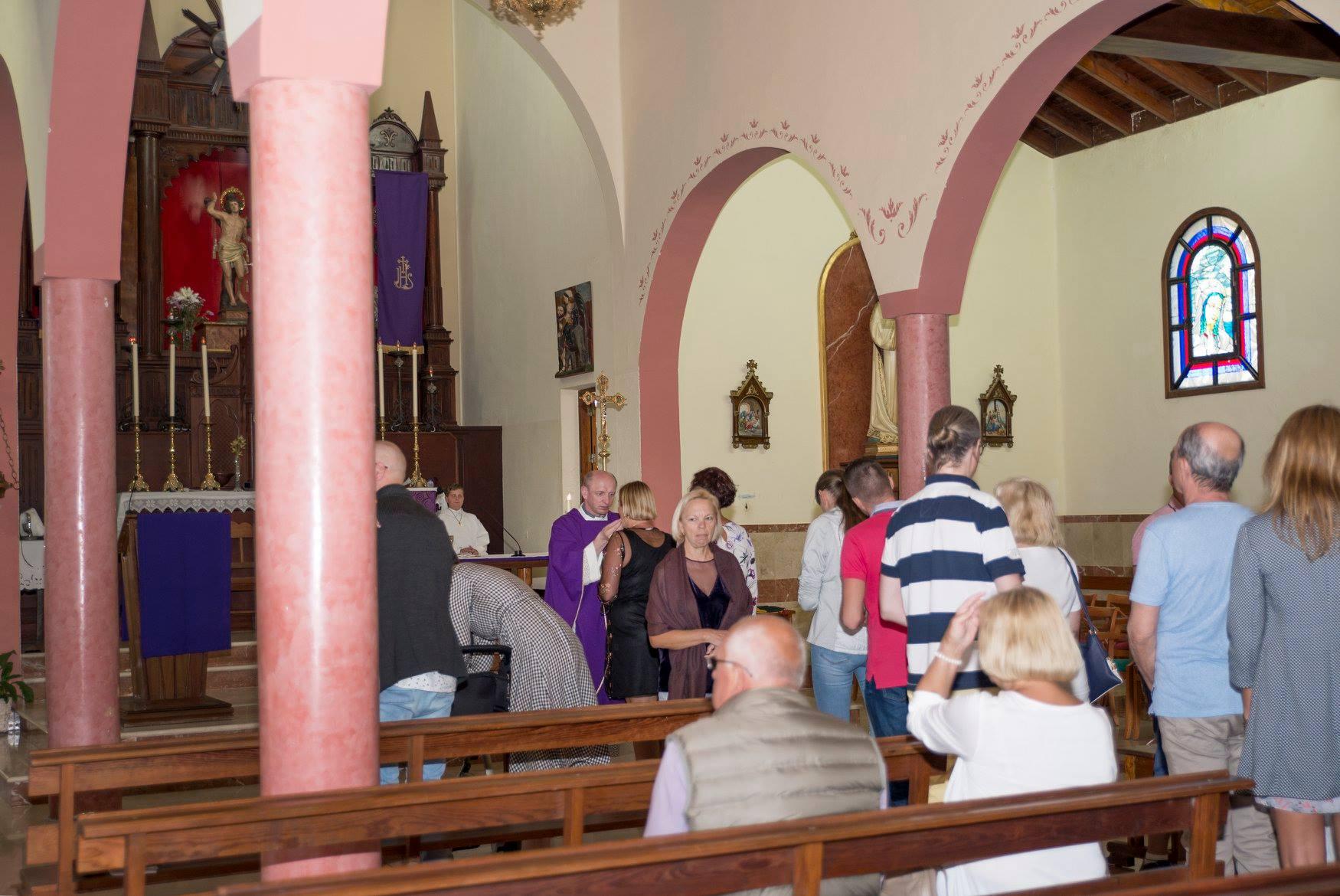 Susitikimas su kunigu, Renginiai Tenerifėje, lietuviu bendruomenė Tenerifėje, kunigas Algimantas Gudaitis