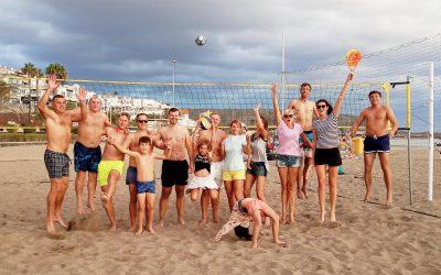 Tinklinis Las Vislas Los Cristianos paplūdimyje,  Lietuvių bendruomenė Tenerifėje Casa Lituana