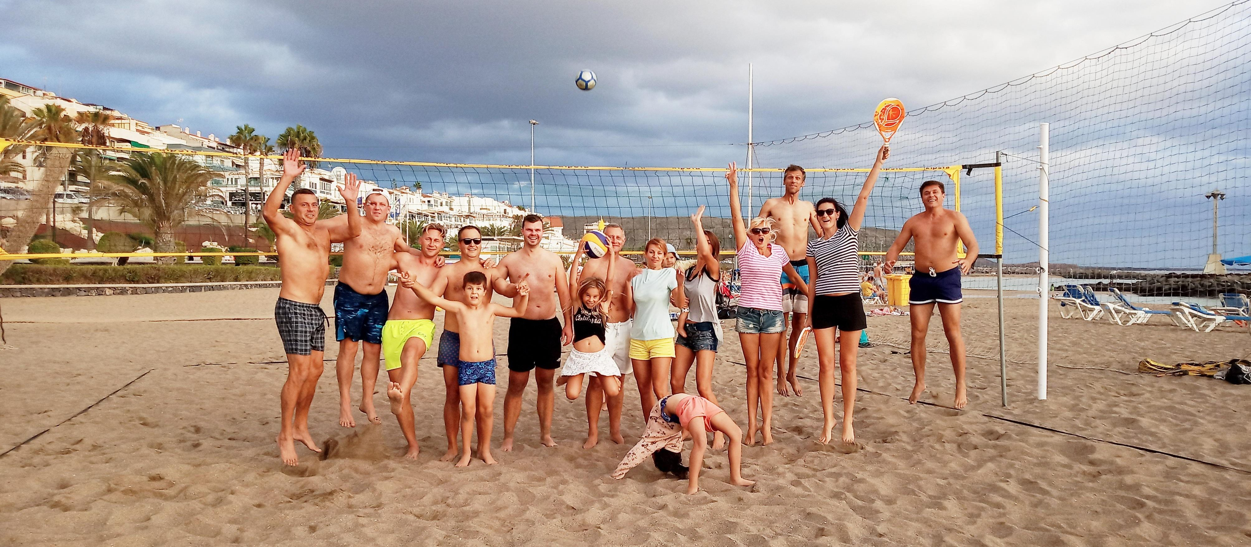Tinklinis Playa Torvisca, Costa Adeje paplūdimyje