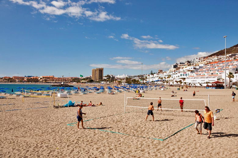 Playa las Vistas, Tenerife, Canary Islands © Peter Schickert - Alamy Stock Photo