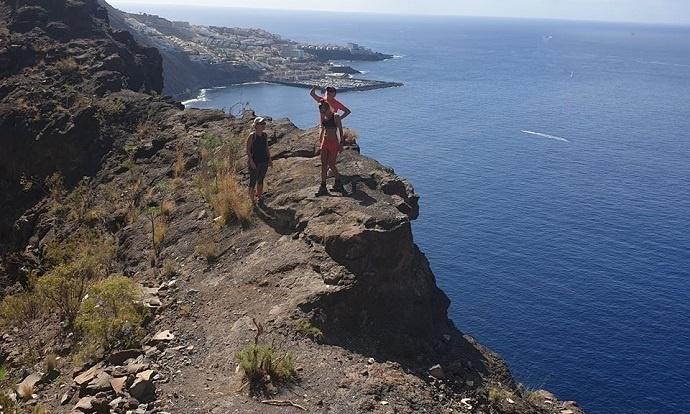 Žygis Los Gigantes uolų viršūnėmis