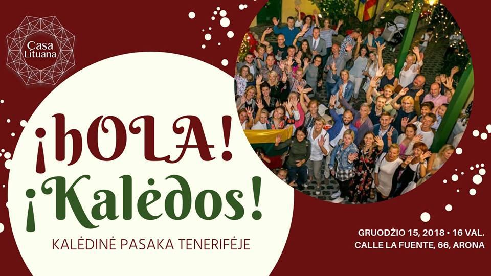 Kalėdos lietuvių bendruomenė Tenerifėje renginiai
