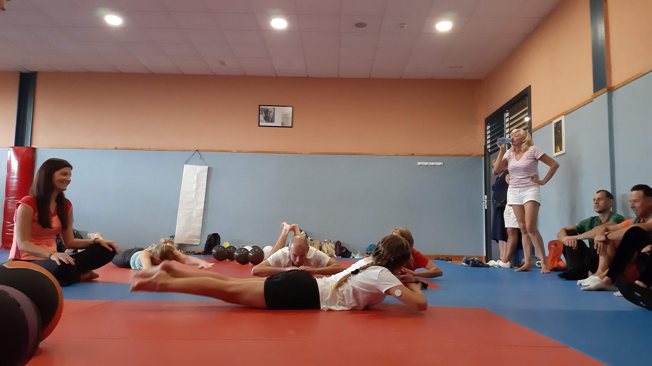 Sporto renginys, Seminaras, Mindaugas Pocius, fizinio pasirengimo treneris, treniruotė, sporto šventė vaikams, medaliai, lietuvių bendruomenė Tenerifėje