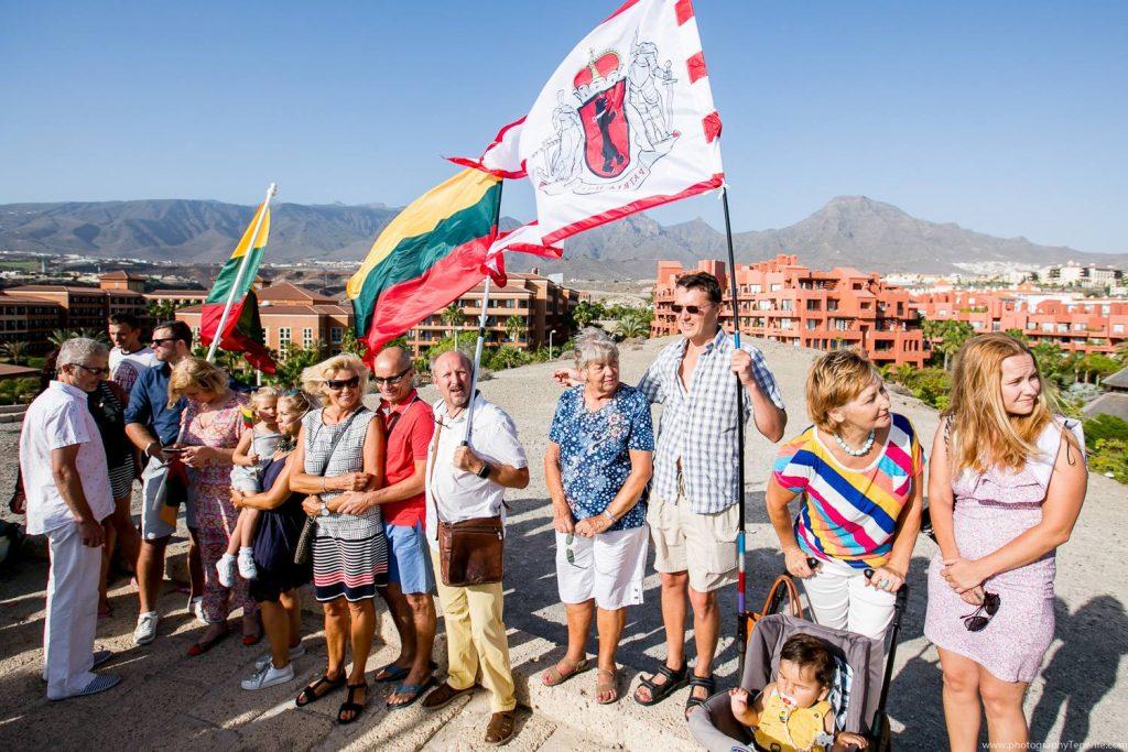 Tautiška giesmė 2018 Liepos 6 Lietuvių bendruomenė Tenerifėje Casa Lituana Renginiai Tenerifėje