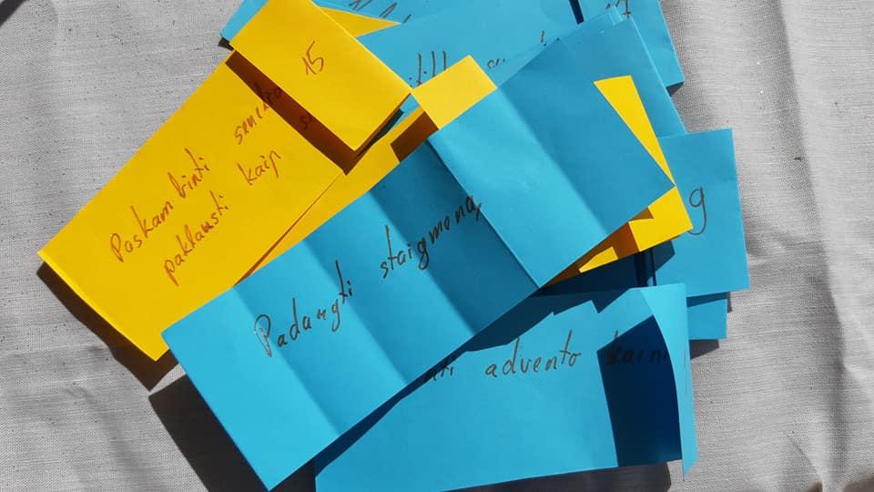 Advento kalendoriaus dirbtuvės šeimai 2019, renginiai, knygų namai Tenerifėje, lietuvių bendruomenė Tenerifėje, kalėdos,k ką veikti Tenerifėje