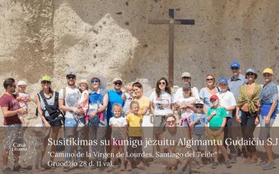 Kalėdinis susitikimas su kunigu Algimantu Gudaičiu
