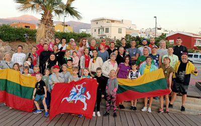 Sausio 13-osios pagarbos bėgimas TENERIFĖJE 2020