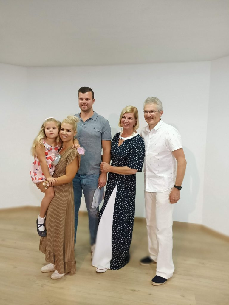 Paulius Kovas ir Nijolė Narmontaitė Lietuvos nepriklausomybės atkūrimo diena  Renginiai Tenerifeje Lietuviu bendruomene Tenerifeje