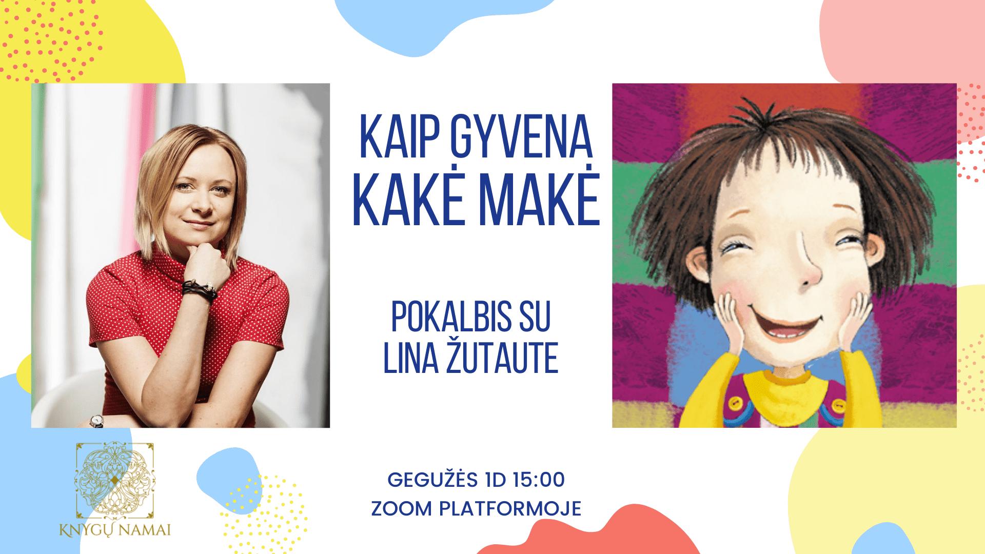 Kakės Makės knygų pristatymas su Lina Zutaute, Knygų namai Tenerifėje Renginiai Lietuviu bendruomenė Tenerifėje