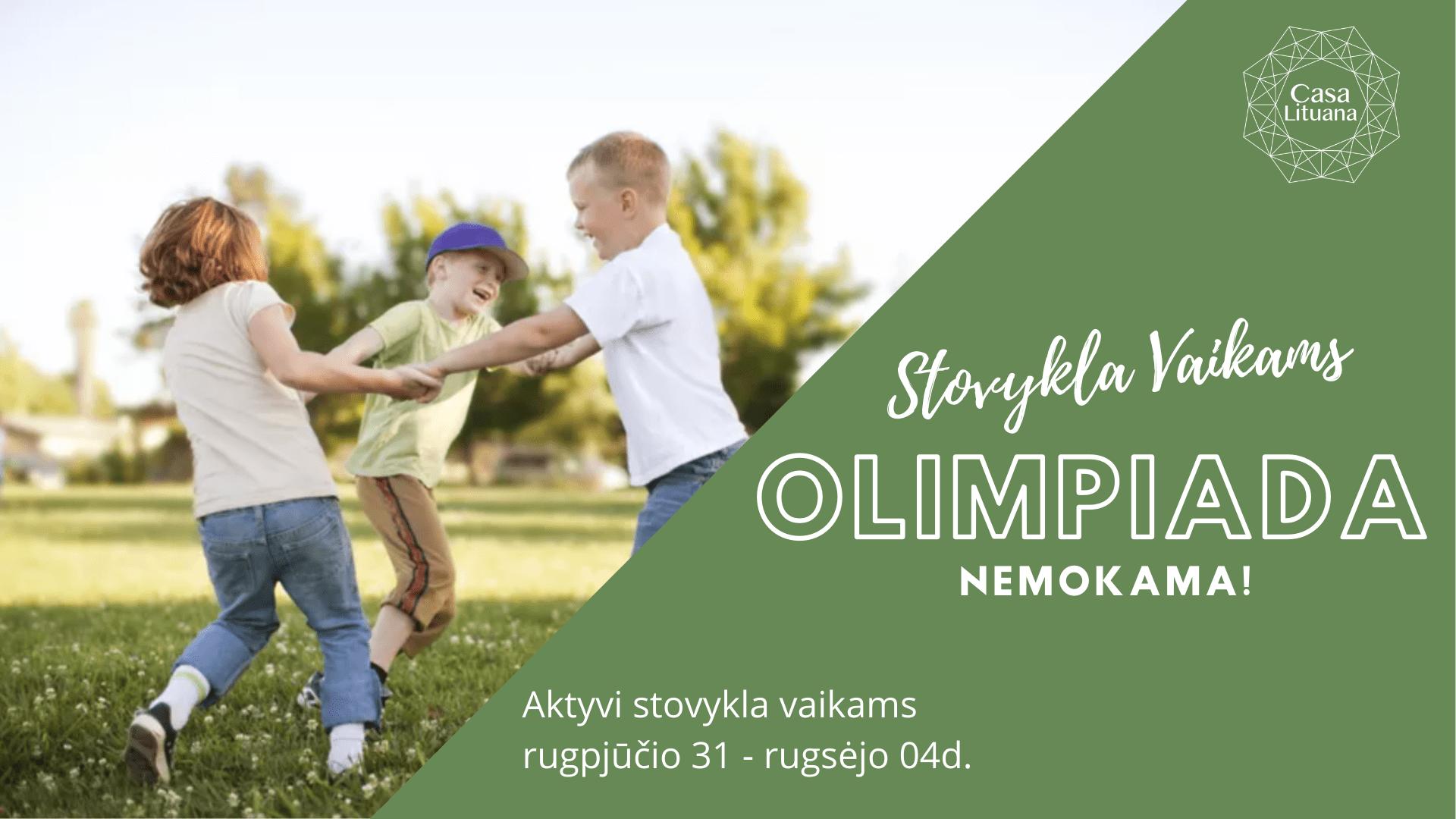 Sporto stovykla vaikams Lietuviu bendruomene Tenerifeje renginiai