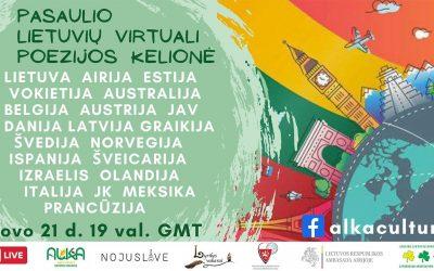 Pasaulio Lietuvių Virtuali Poezijos Kelionė